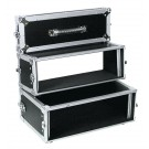 ROADINGER Doppel-CD-Player-Case Tour Pro 3HE sw